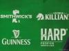 Smithwicks Killians Guinness Harp